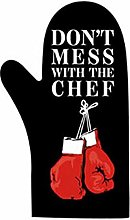 Iconic Aprons Oven glove novelty themed kitchen or