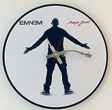 Iconic Eminem vinyl record wall clock