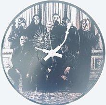 Iconic Slipknot vinyl record wall clock