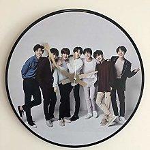 Iconic Vinyl Record Wall Clock (Iconic BTS Vinyl