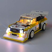 iCUANUTY LED Lighting Kit for Lego 76897 Speed