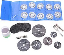 Ideal Electric Grinding Disc Set, Radial Bristle
