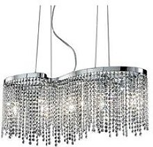 Ideal Lux Aurora - 5 Light Ceiling Pendant Chrome,