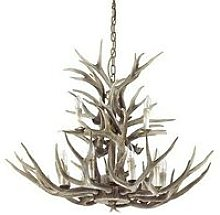 Ideal Lux Chalet - 12 Light Pendant Chandelier