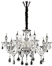 Ideal Lux Colossal - 8 Light Chandelier Ivory