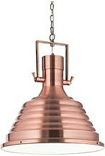 Ideal Lux Fisherman - 1 Light Dome Ceiling Pendant