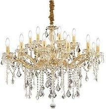 Ideal Lux Florian - 18 Light Crystal Chandelier