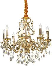 Ideal Lux Gioconda - 8 Light Crystal Chandelier