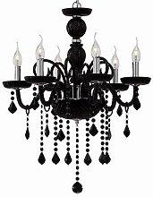 Ideal Lux Giudecca - 6 Light Chandelier Black