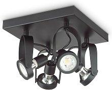 Ideal Lux GLIM - Indoor 4 Lights Ceiling Spotlight
