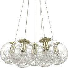 Ideal Lux Mapa - 7 Light Cluster Ceiling Pendant