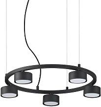 Ideal Lux MINOR - Indoor 5 Lights Circular Ceiling