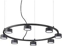 Ideal Lux MINOR - Indoor 8 Light Circular Ceiling