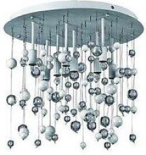 Ideal Lux Neve - 8 Light Medium Blown Glass
