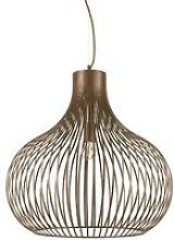 Ideal Lux Onion - 1 Light Ceiling Pendant Brown