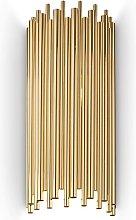 Ideal Lux Pan - 2 Light Wall Light Gold