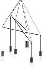 Ideal Lux Pop - 6 Light Cluster Ceiling Pendant