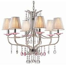 Ideal Lux Violette - 6 Light Crystal Multi Arm