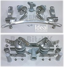 IDEAL STANDARD SPACE EV154AA STAINLESS STEEL SEAT