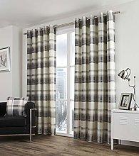 Ideal Textiles Balmoral Check Lined Eyelet