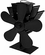 Idealplast 5 Blades Heat Powered Stove Fan