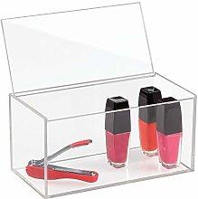 iDesign 39650 Box with Lid, Medium Size Bathroom