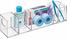 iDesign 39680 Plastic Make Up Organiser with 8