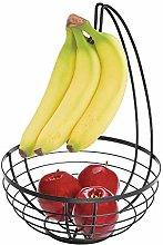 iDesign 51687 Austin Wire Bowl, Metal Fruit Basket