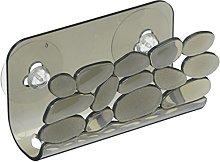 iDesign 62363 Pebblz Sink Storage Basket, Suction