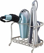 iDesign 65345 Hair Dryer Holder Free Standing,