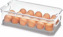 iDesign 71653 Crisp Plastic Refrigerator and