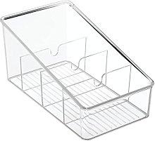 iDesign 77650 Linus Kitchen Organizer Bin For Food