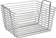 iDesign 93322 Classico Storage Basket, Large Wire