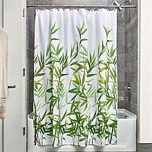 iDesign Anzu Fabric Shower Curtain, Polyester