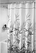 iDesign Anzu Fabric Shower Curtain, Shower Screen
