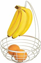 iDesign Austin Wire Bowl, Metal Fruit Basket with
