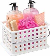 iDesign Basic Storage Basket, Small Plastic Bath