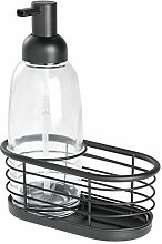 iDesign Bathroom Accessories Set, Small Basket