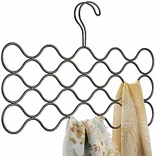 iDesign Classico Scarf Hanger with 23 Loops, Also