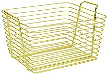 iDesign Classico Storage Basket, Large Wire Basket