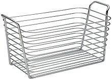 iDesign Classico Storage Basket, Medium-Sized Wire