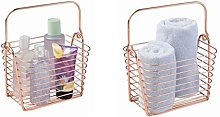 iDesign Classico Storage Basket, Small Wire Basket
