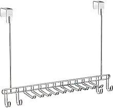 iDesign Classico Tie Rack, Metal Tie and Belt