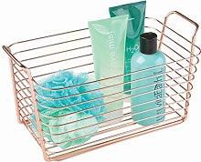 iDesign Classico Wire Basket, Storage for Kitchen,