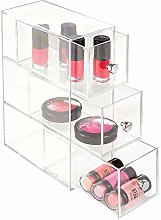 iDesign Drawers Bathroom Storage Drawers, Plastic