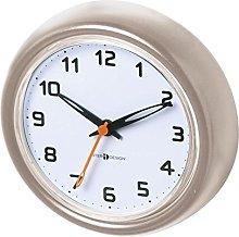 iDesign Forma Suction Clock For Bathroom -Satin