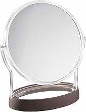 iDesign Haley Vanity Standing Mirror for Bathroom,