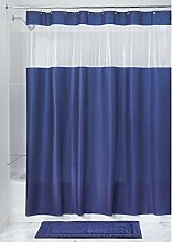 iDesign Hitchcock Pvc-Free Eva Shower Curtain, 183