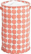 iDesign Laundry Bin, Foldable Storage Basket Made