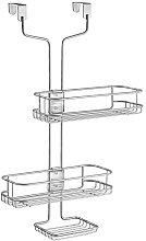 iDesign Linea Adjustable Over-Door Shower Caddy,